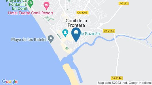 ConilPlus Apartments-Azorin III Map