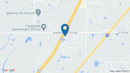 Microtel Inn & Suites by Wyndham Claremore Map