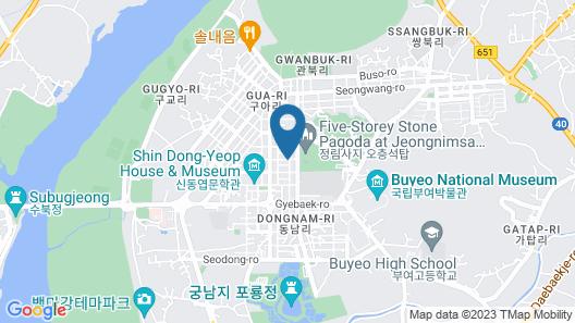 Buyeo Moonstone Map