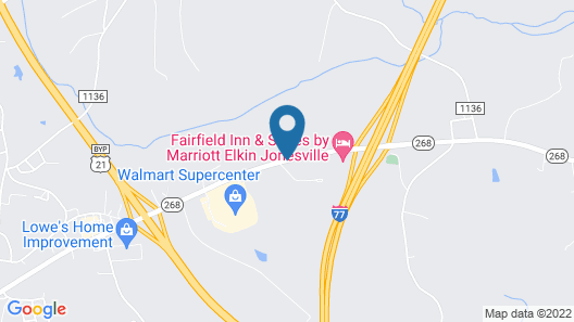 Fairfield Inn & Suites by Marriott Elkin Jonesville Map