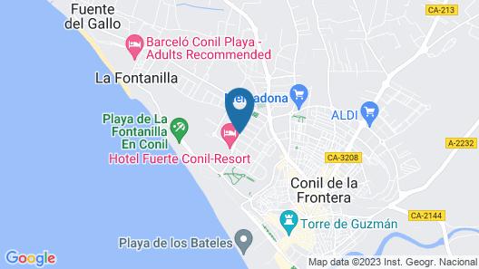 Hotel Oasis Atalaya Map