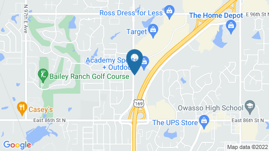 La Quinta Inn & Suites by Wyndham Owasso Map
