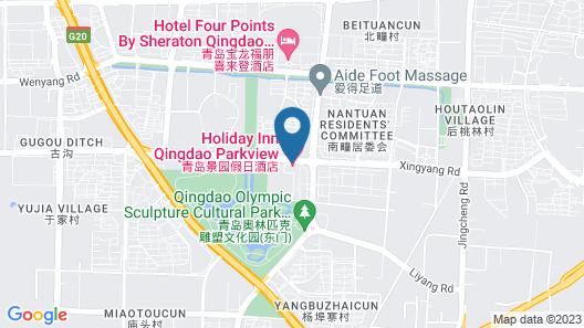 Holiday Inn Express Qingdao Chengyang Central, an IHG Hotel Map