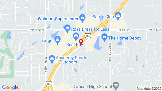 TownePlace Suites by Marriott North Owasso Map