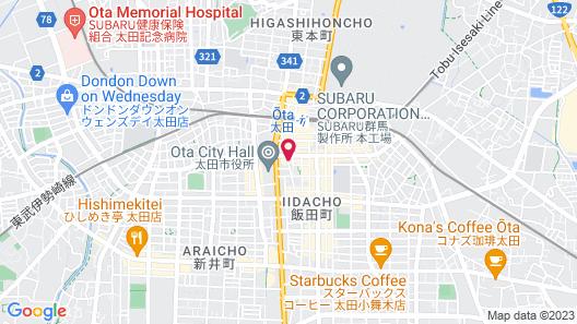 OTA  NOW RESORT HOTEL Map