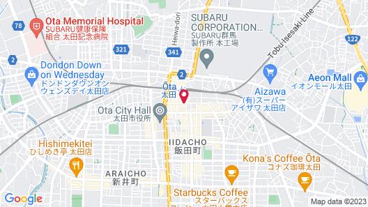 Hotel Monteroza Ohta Map