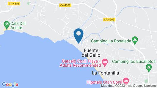Villas Flamenco Beach Map