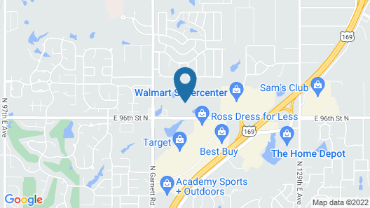 Candlewood Suites Owasso, an IHG Hotel Map
