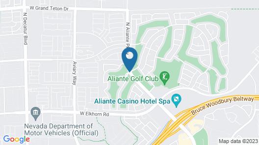 Aliante Casino & Hotel Map
