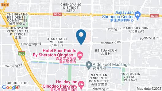 Qingdao Yunfatins Hotel Map