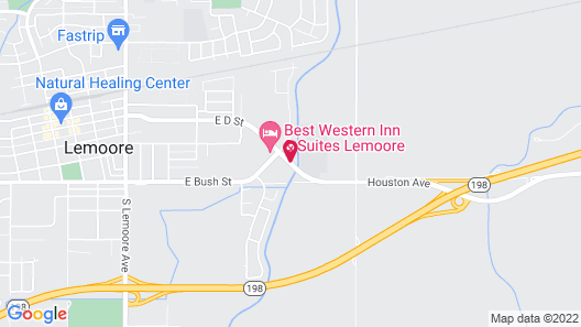 Travelodge by Wyndham Lemoore Near Naval Air Station Map