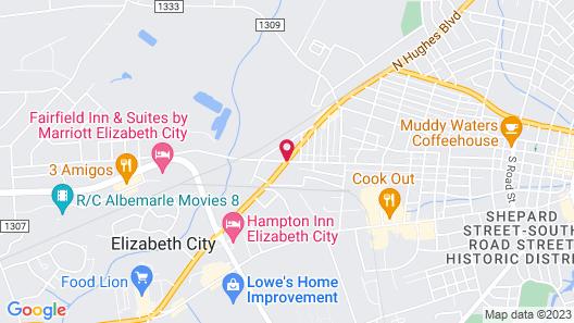Days Inn by Wyndham Elizabeth City Map