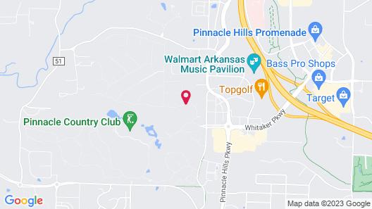 Embassy Suites Northwest Arkansas - Hotel, Spa & Convention Map