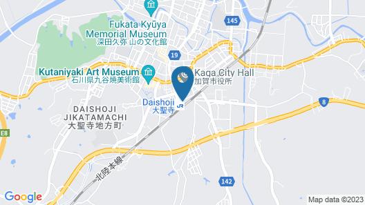 APA Hotel Kaga Daisyoji-Ekimae Map