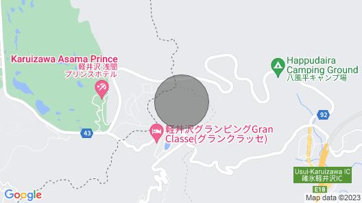 A Villa in the Forest in Minami Karuizawa A Spect - Minami Kuruizawa No 1 / Kanra-gun Gunma Map