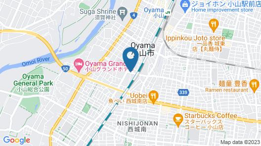 Oyama Palace Hotel Map