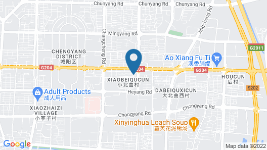 Tujia Sweetome Vacation Rentals Map