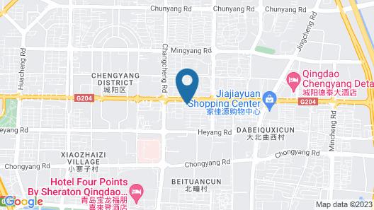 Jinjiang Inn Qingdao Zhengyang Road Branch 2 Map