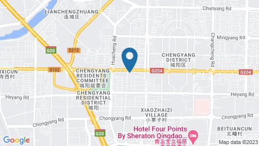 Molly Hotel Select Qingdao Map
