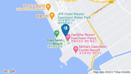 Boryeong Penta Pension Map
