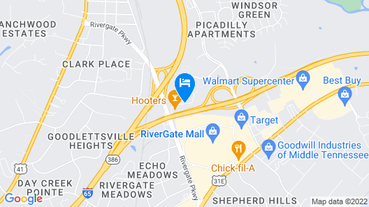 Country Inn & Suites by Radisson, Goodlettsville, TN Map
