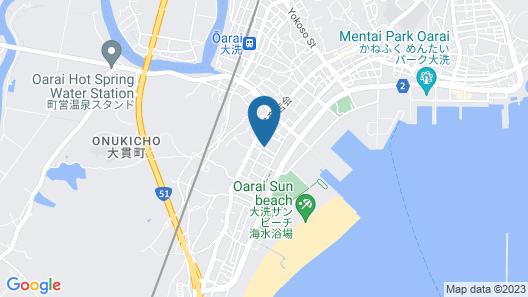 Minshuku Hamanoya Map