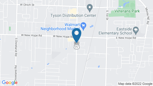 Rogers Inn Map