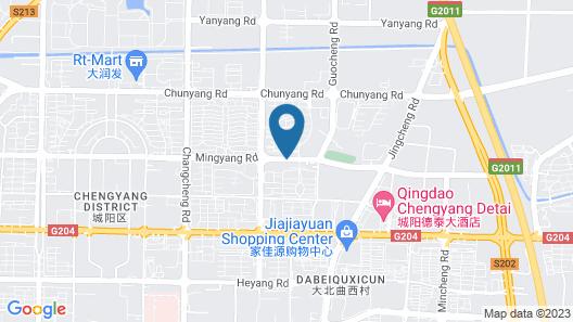 Hanting Hotel Map