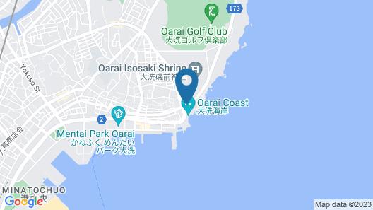 Oarai Hotel Map