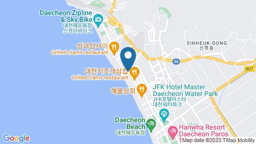 Hotel Merrymud Map
