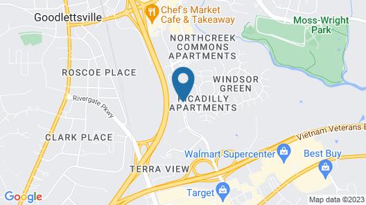 Candlewood Suites Goodlettsville - Nashville, an IHG Hotel Map