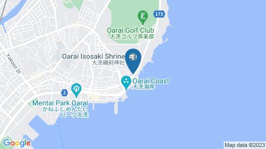 Hinoji Ryokan Map