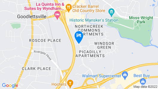 TownePlace Suites by Marriott Nashville Goodlettsville Map