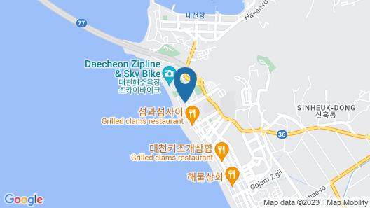 Daecheon 323 Condo Map