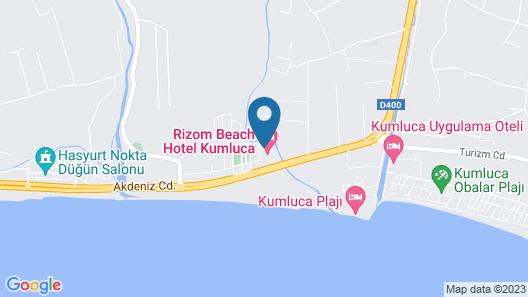 Kekova Luxe Hotel Map