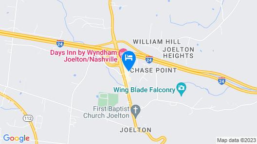 Days Inn by Wyndham Joelton/Nashville Map