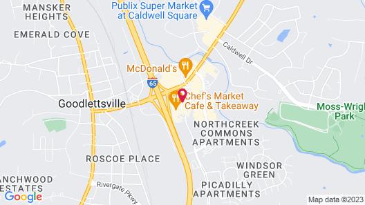 Red Roof Inn PLUS+ Nashville North - Goodlettsville Map
