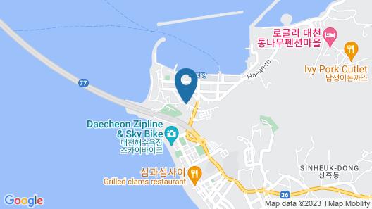 Oceanview Resortel Map