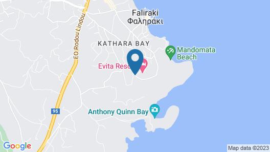 Evita Resort - All Inclusive Map