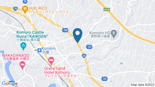 Hotel Route-Inn Komoro Map