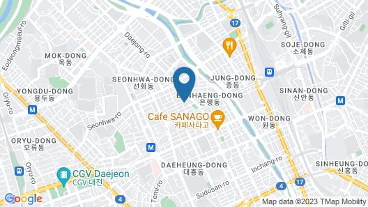 Ninespot Hotel Map