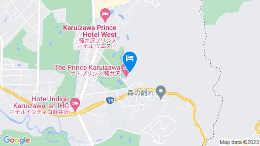 The Prince Karuizawa Map