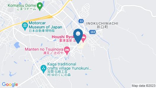 Yukai Resort Awazuonnsen Awazu Grand Hotel Map