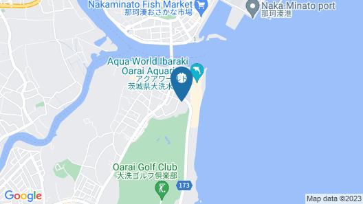 Oarai Park Hotel Map