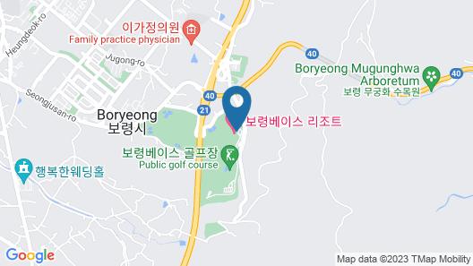 Boryeong Base Map