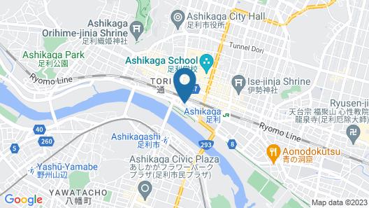 Hotel R9 The Yard Ashikagaekinishi Map