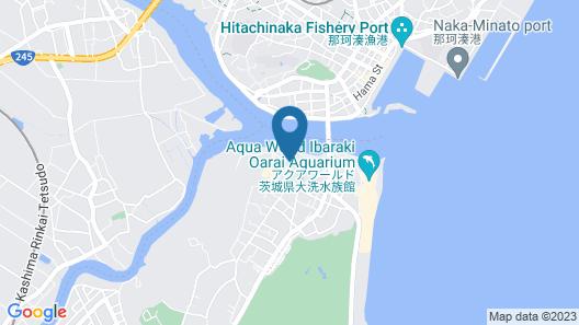 Kanponoyado Oarai Map