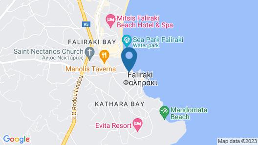 Lido Star Beach Map