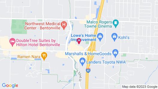 Avid Hotels Bentonville - Rogers, an IHG Hotel Map
