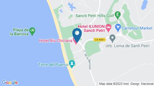 Hotel Riu Chiclana Map